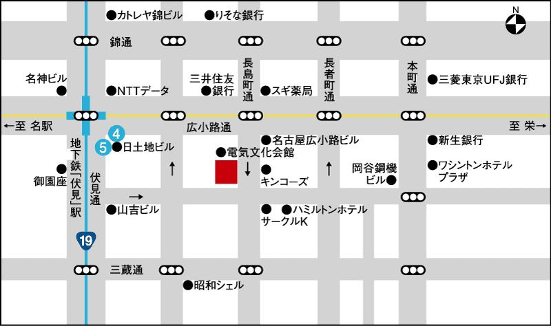 プレス・トーク店舗MAP